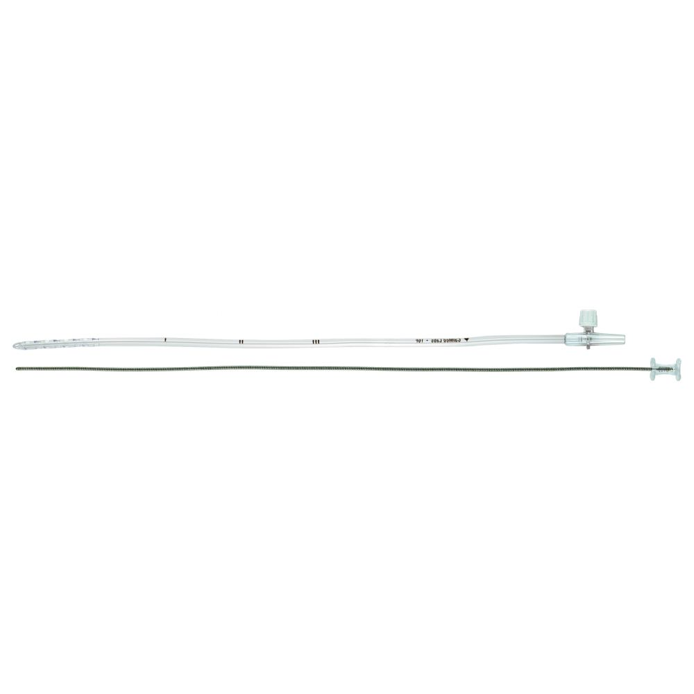 Vents, PVC Straight, Bullet Tip, with Guidewire Stylet, 13 Fr, VT-84413